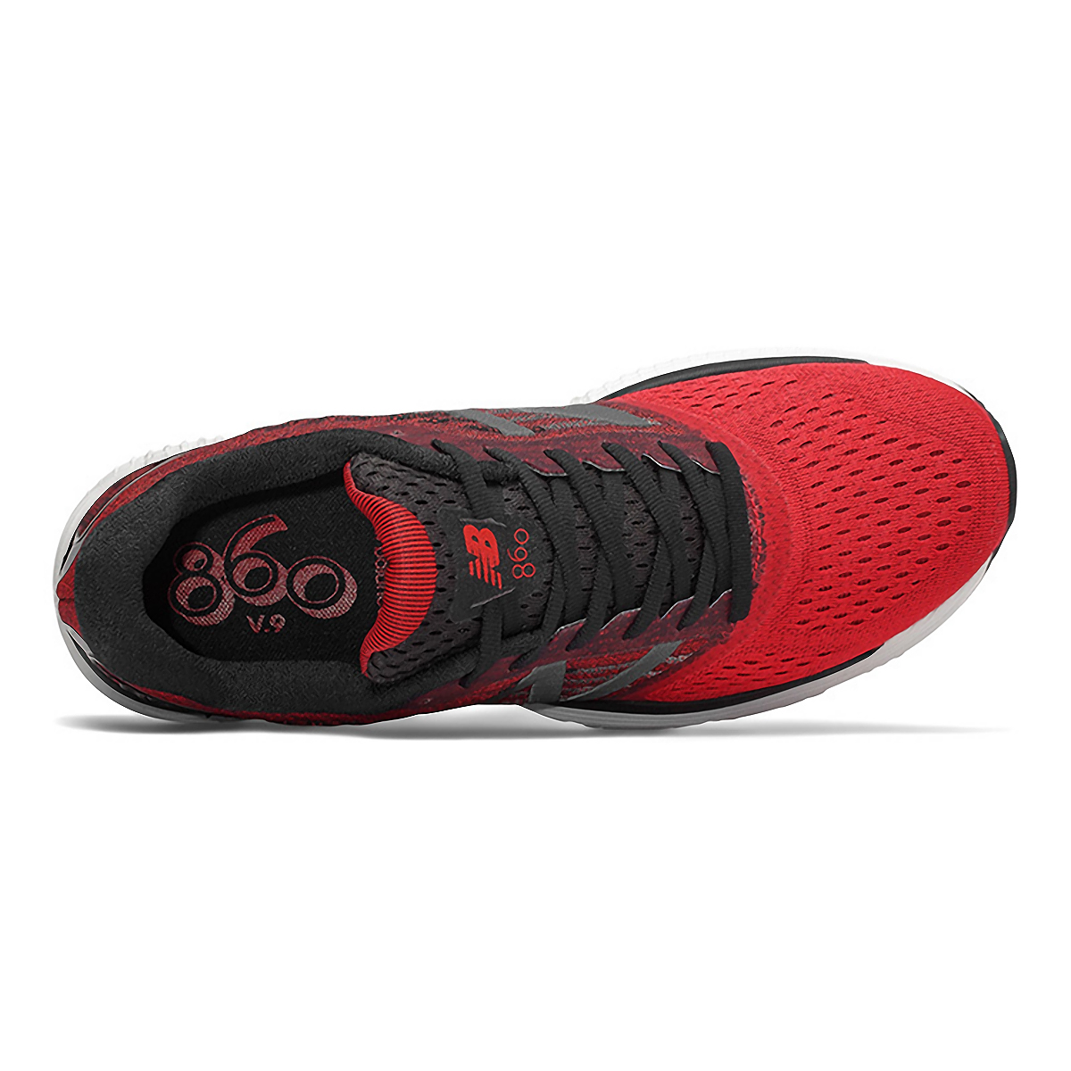 Men's New Balance 860V9 Running Shoe - Color: Team Red - Size: 7 - Width: Wide, Team Red, large, image 3