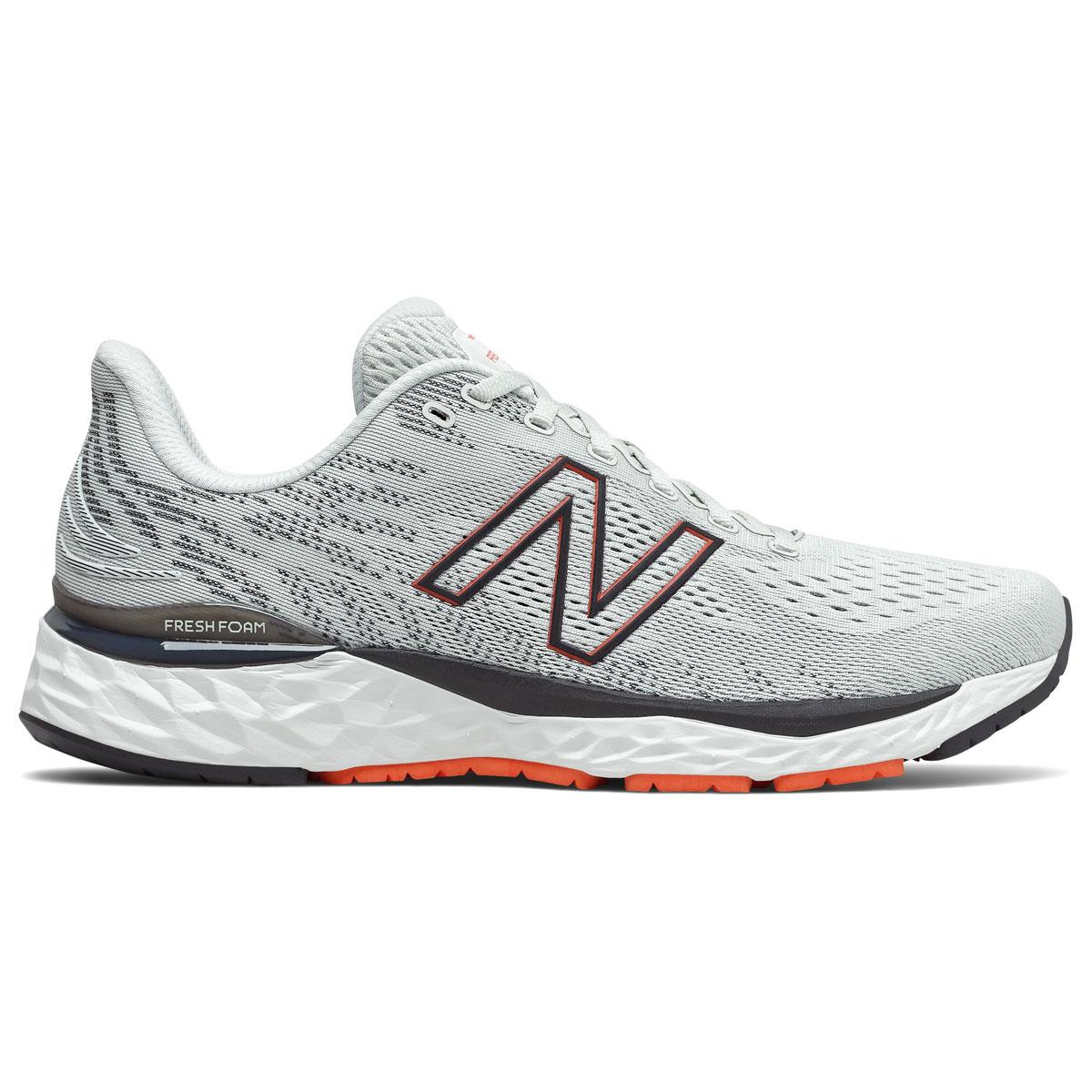 Men's New Balance Fresh Foam 880v11 Running Shoe - Color: Arrowroot/Ghost Pepper - Size: 7 - Width: Wide, Arrowroot/Ghost Pepper, large, image 1