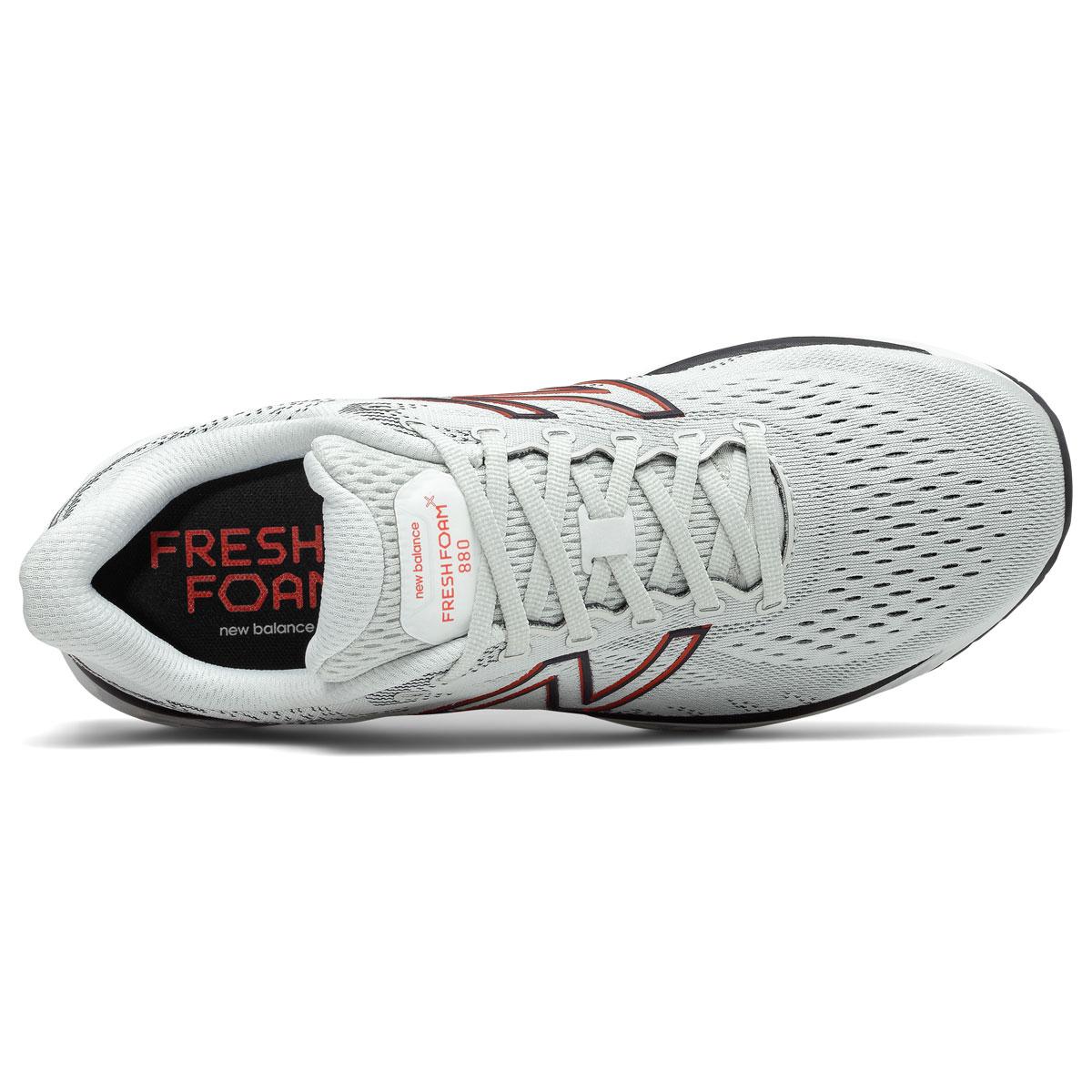 Men's New Balance Fresh Foam 880v11 Running Shoe - Color: Arrowroot/Ghost Pepper - Size: 7 - Width: Wide, Arrowroot/Ghost Pepper, large, image 3