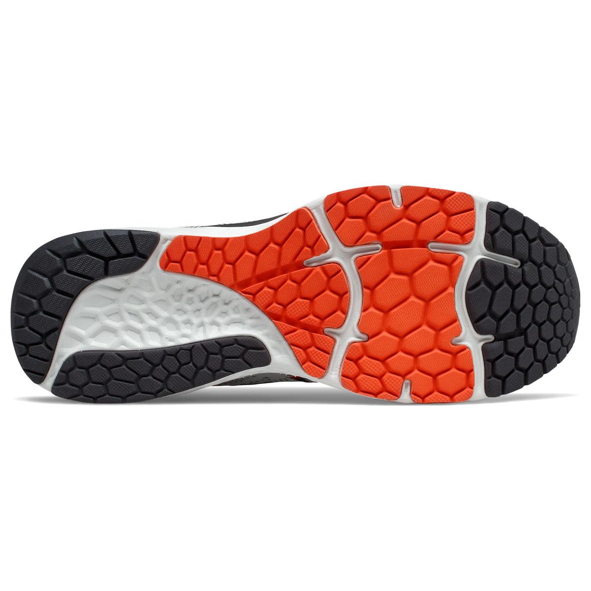 Men's New Balance Fresh Foam 880v11 Running Shoe - Color: Arrowroot/Ghost Pepper - Size: 7 - Width: Wide, Arrowroot/Ghost Pepper, large, image 4
