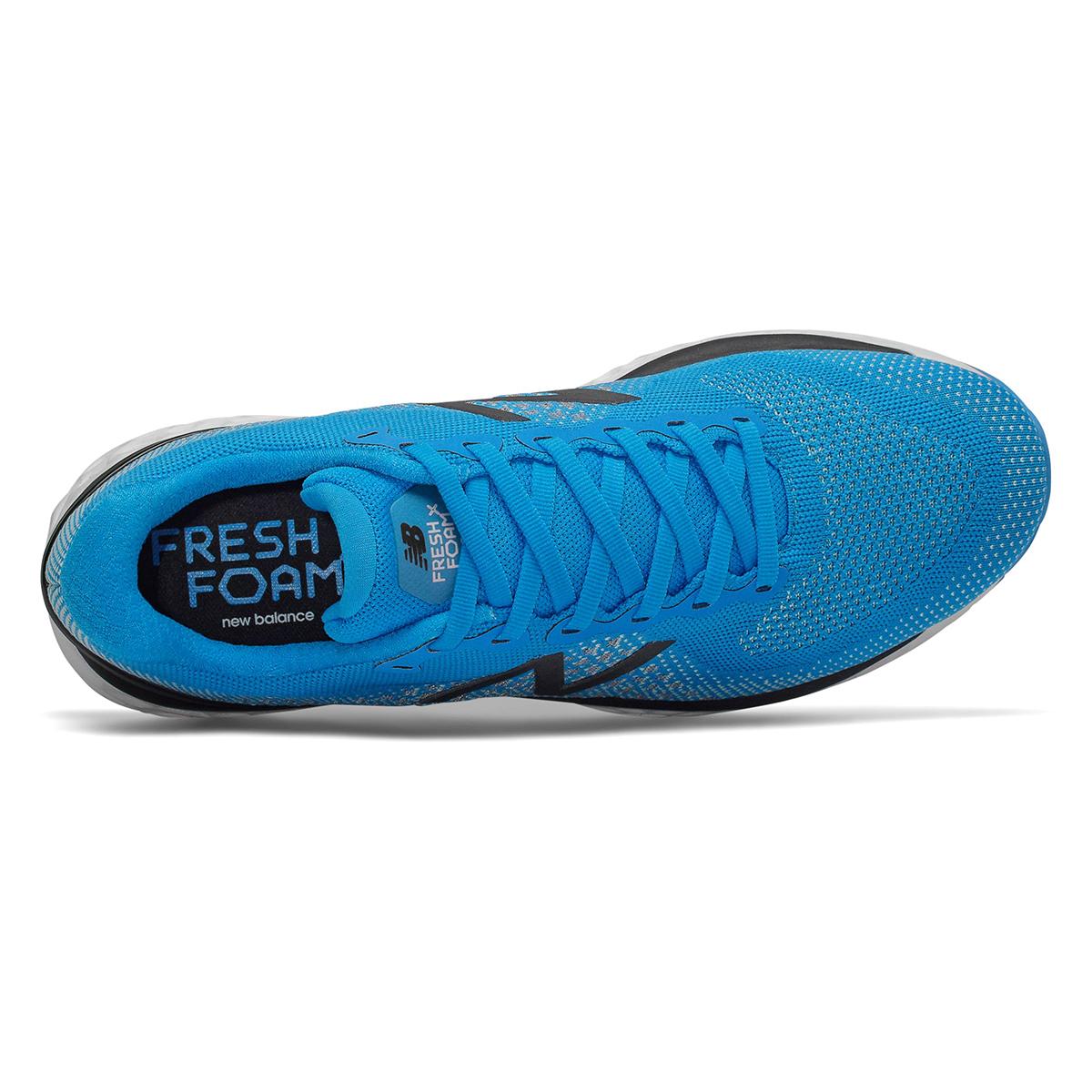 Men's New Balance 880V10 Running Shoe - Color: Vision Blue / Neo Mint (Regular Width) - Size: 8, Vision Blue/Neo Mint, large, image 3