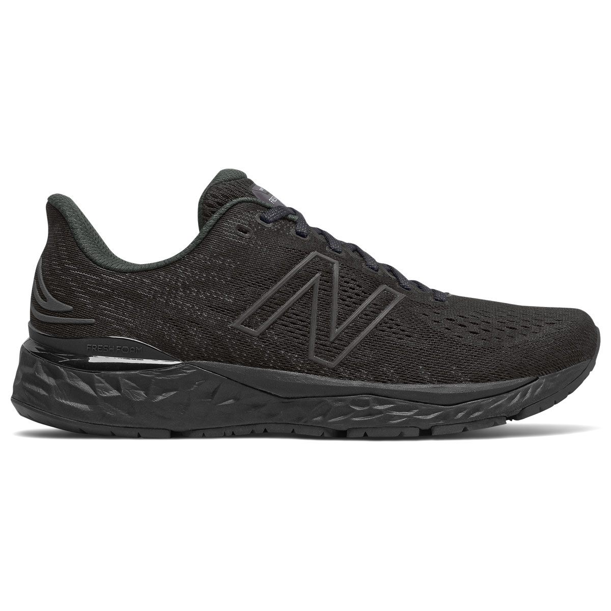 Men's New Balance Fresh Foam 880v11 Running Shoe - Color: Black/Phantom - Size: 6 - Width: Wide, Black/Phantom, large, image 1
