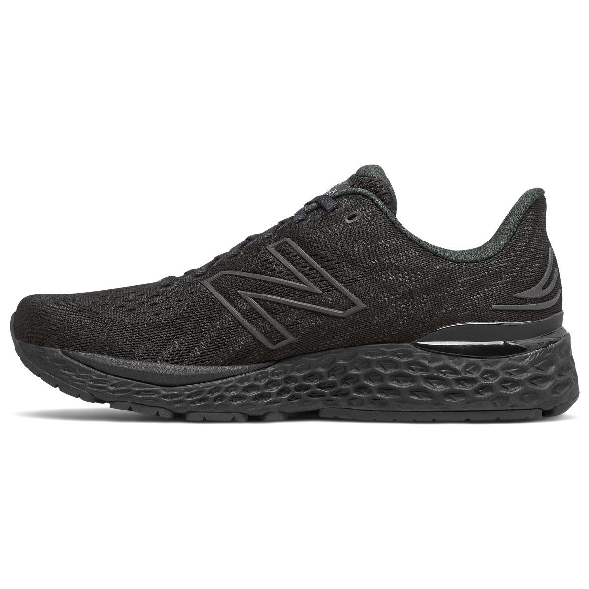 Men's New Balance Fresh Foam 880v11 Running Shoe - Color: Black/Phantom - Size: 6 - Width: Wide, Black/Phantom, large, image 2