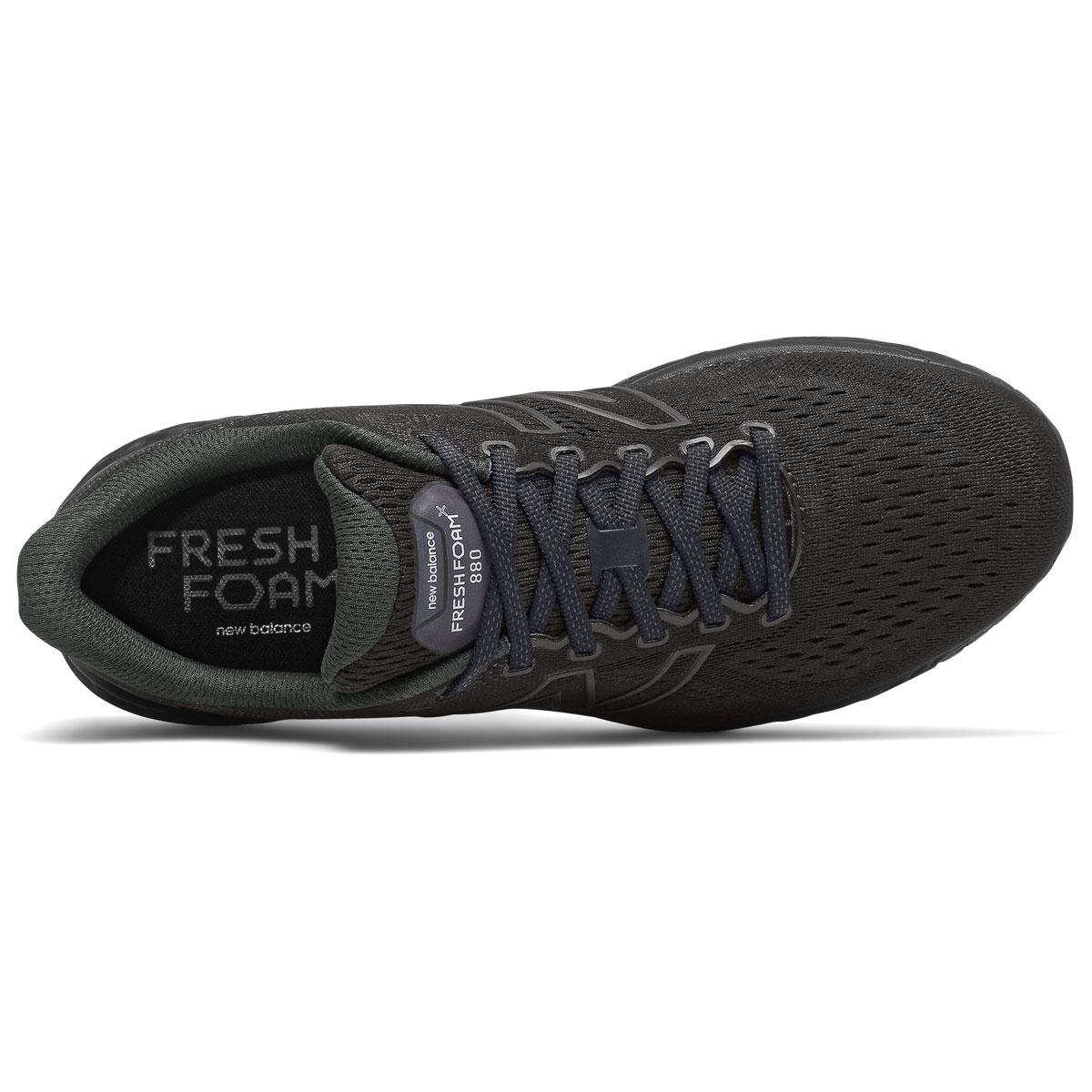 Men's New Balance Fresh Foam 880v11 Running Shoe - Color: Black/Phantom - Size: 6 - Width: Wide, Black/Phantom, large, image 3