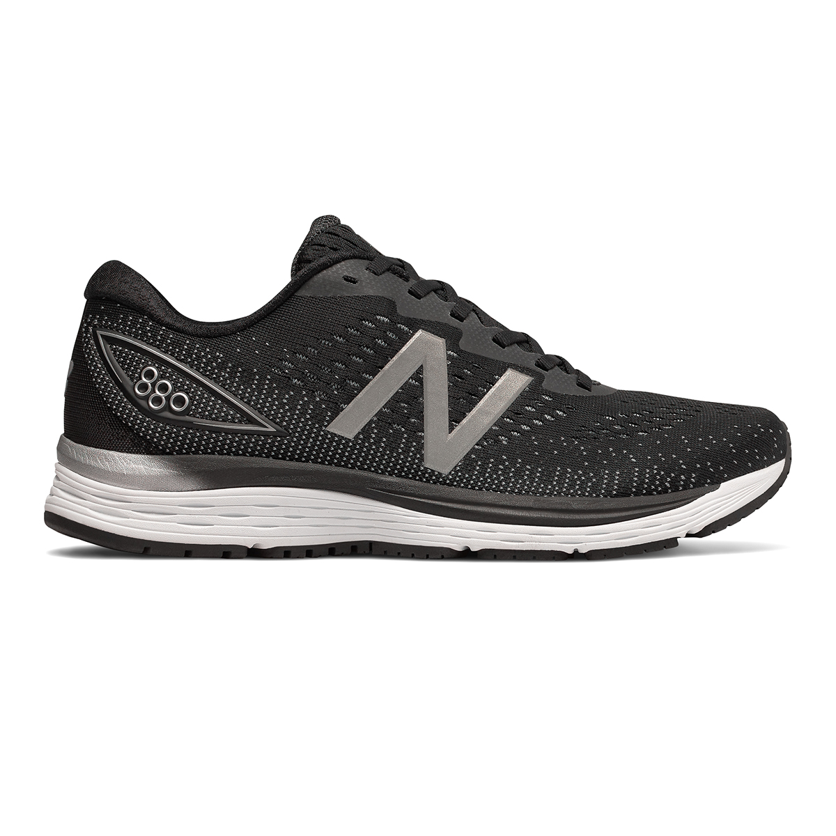 Men's New Balance 880V9 Running Shoe - Color: Black / Steel (Regular Width) - Size: 8, Black / Steel, large, image 1