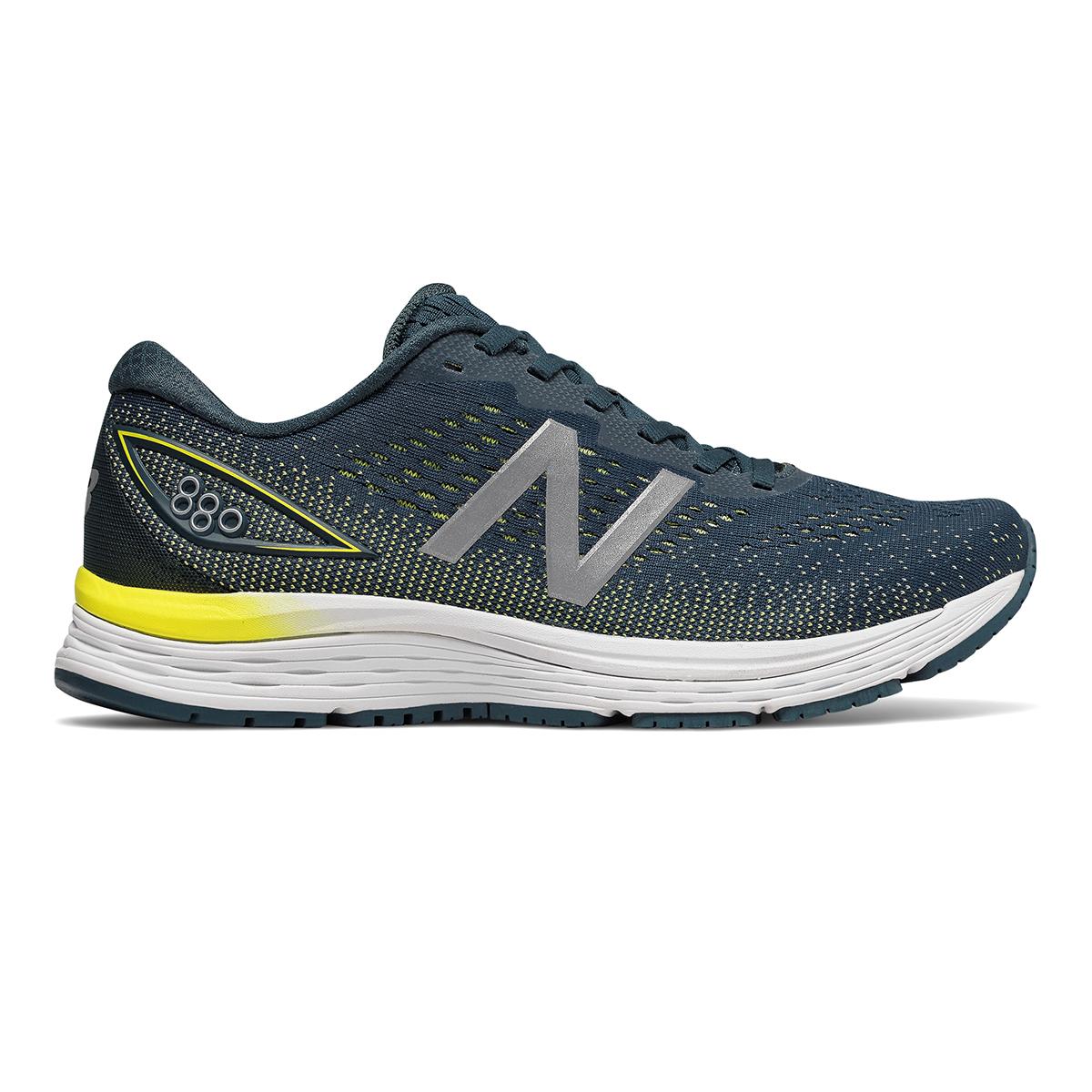 Men's New Balance 880V9 Running Shoe - Color: Supercell / Orion Blue / Sulphur Yellow (Regular Width) - Size: 8.5, Supercell / Orion Blue / Sulphur Yellow, large, image 1