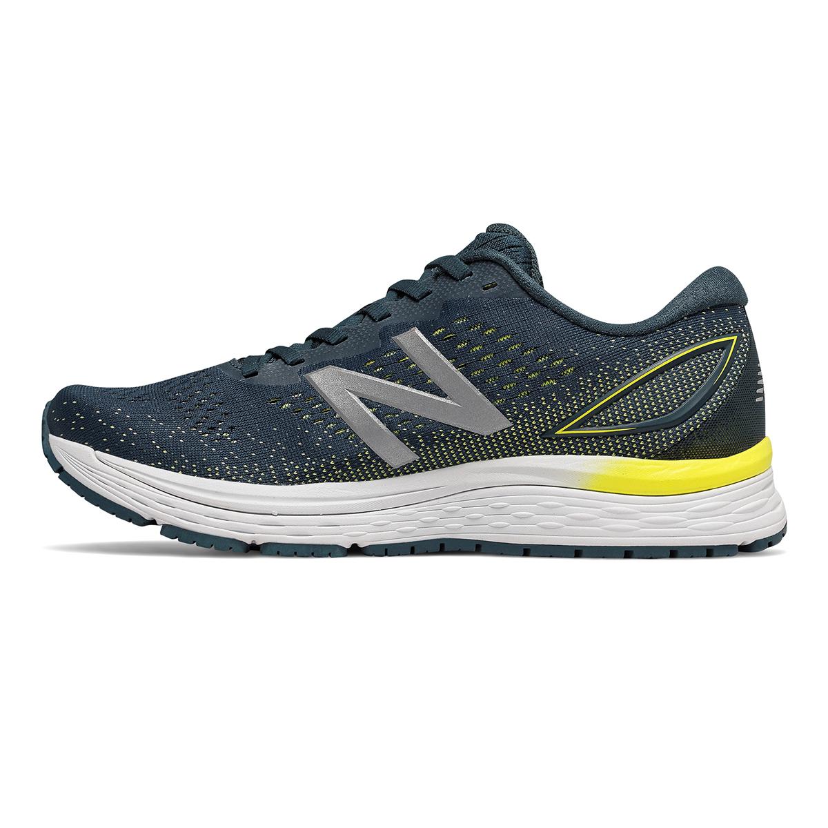 Men's New Balance 880V9 Running Shoe - Color: Supercell / Orion Blue / Sulphur Yellow (Regular Width) - Size: 8.5, Supercell / Orion Blue / Sulphur Yellow, large, image 2
