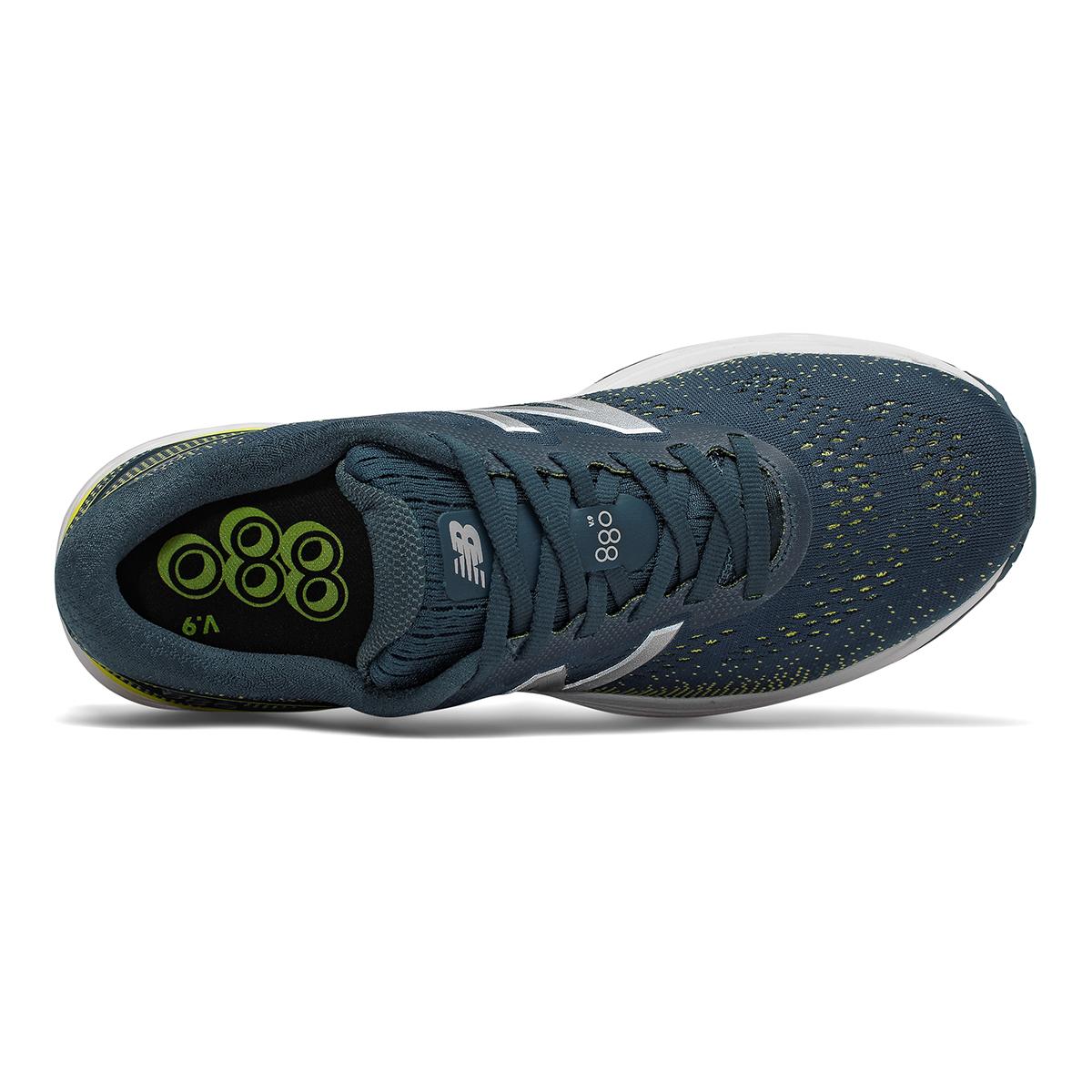 Men's New Balance 880V9 Running Shoe - Color: Supercell / Orion Blue / Sulphur Yellow (Regular Width) - Size: 8.5, Supercell / Orion Blue / Sulphur Yellow, large, image 4