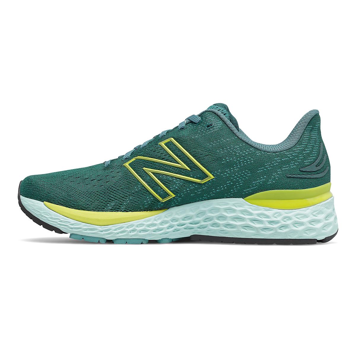Men's New Balance Fresh Foam 880v11 Running Shoe - Color: Trek/Sulpher Yellow - Size: 7 - Width: Wide, Trek/Sulpher Yellow, large, image 2