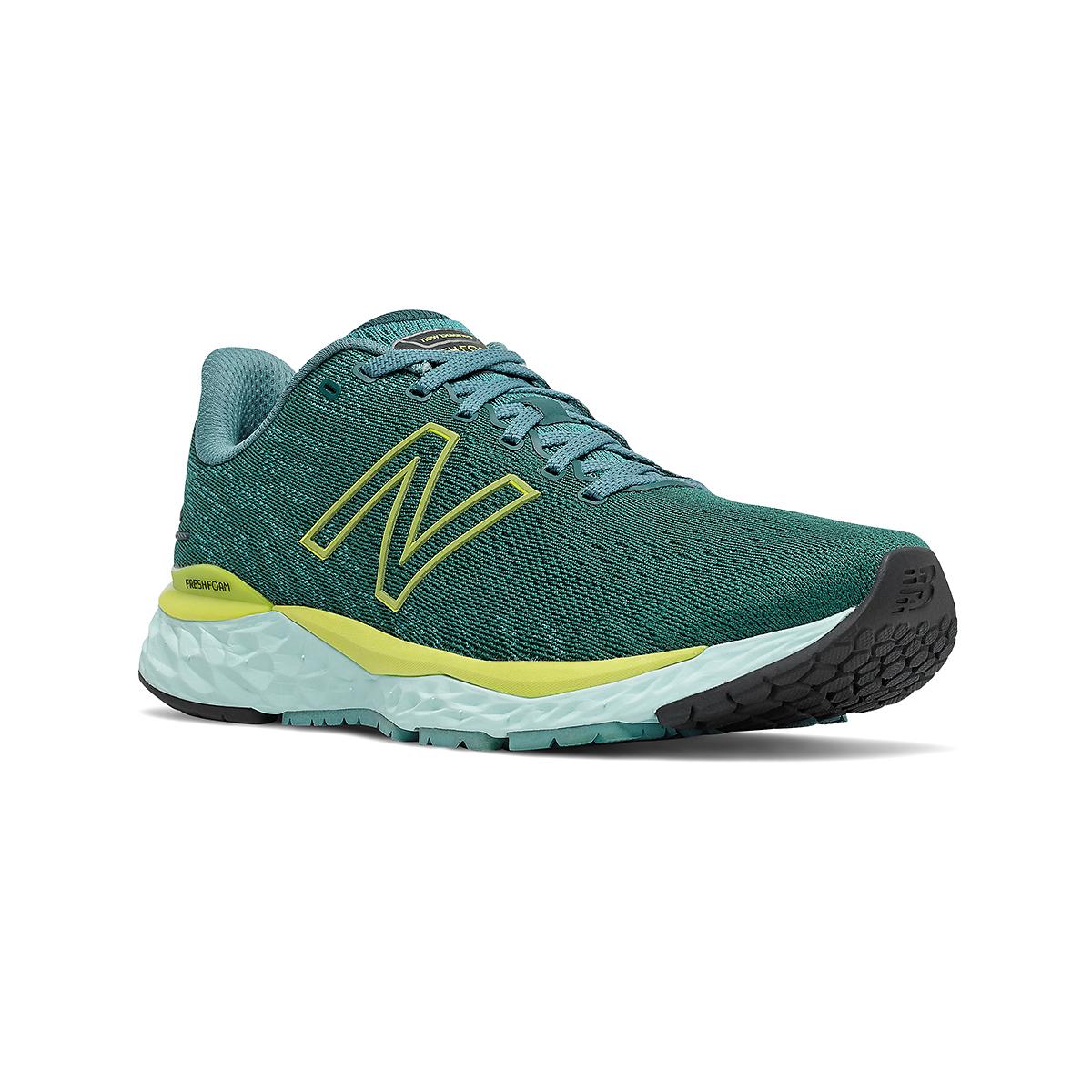 Men's New Balance Fresh Foam 880v11 Running Shoe - Color: Trek/Sulpher Yellow - Size: 7 - Width: Wide, Trek/Sulpher Yellow, large, image 3