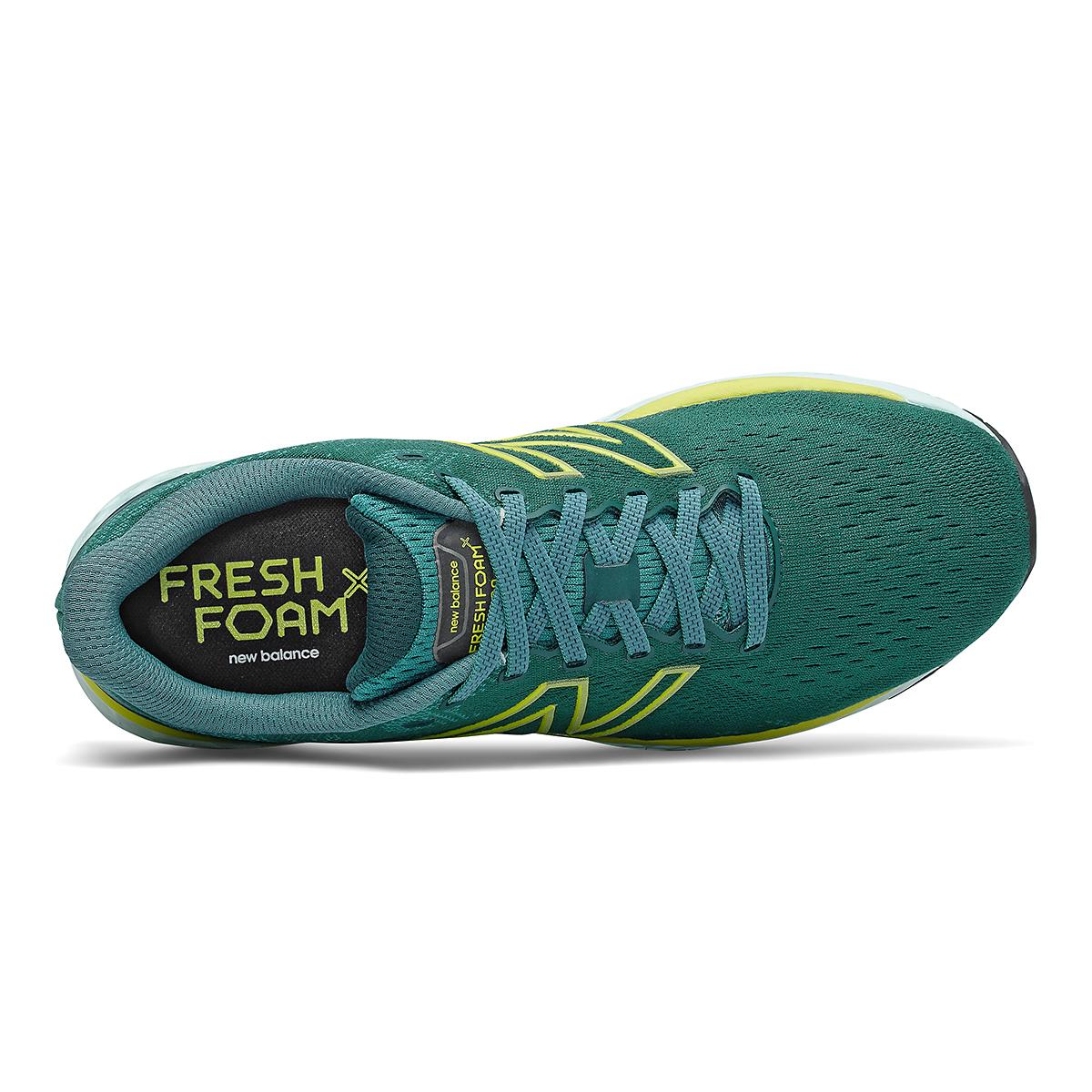 Men's New Balance Fresh Foam 880v11 Running Shoe - Color: Trek/Sulpher Yellow - Size: 7 - Width: Wide, Trek/Sulpher Yellow, large, image 4