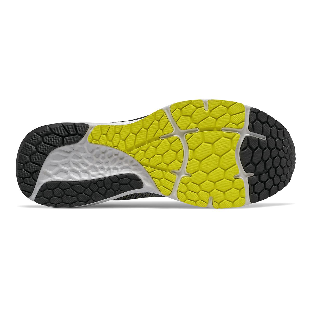 Men's New Balance 880V10 Running Shoe  - Color: Silver Mink / Lemon Slush (Wide Width) - Size: 9, Silver Mink / Lemon Slush, large, image 3