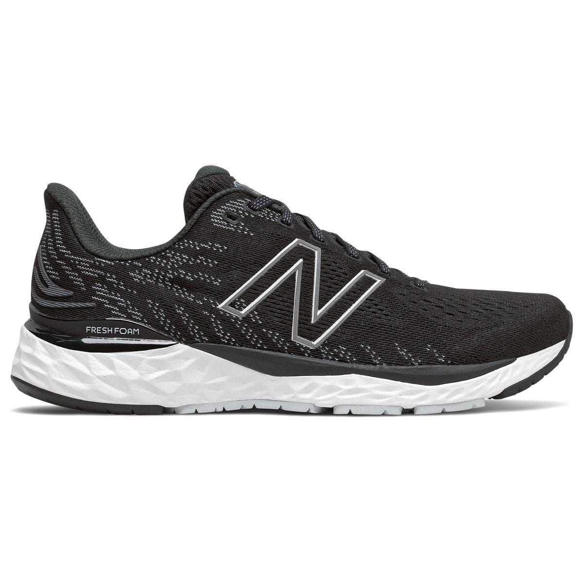 Men's New Balance Fresh Foam 880v11 Running Shoe - Color: Black/Cyclone - Size: 6 - Width: Wide, Black/Cyclone, large, image 1