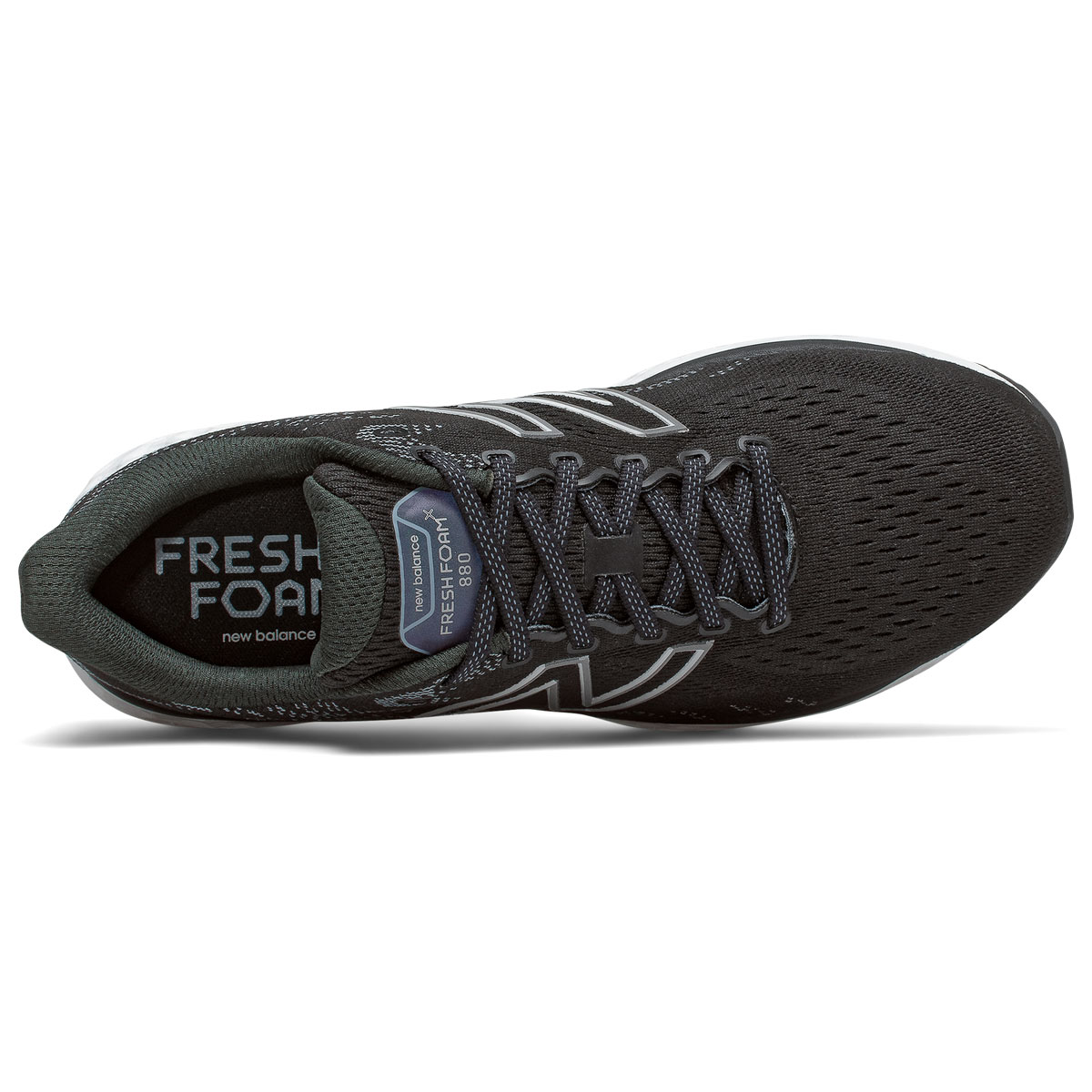 Men's New Balance Fresh Foam 880v11 Running Shoe - Color: Black/Cyclone - Size: 6 - Width: Wide, Black/Cyclone, large, image 3