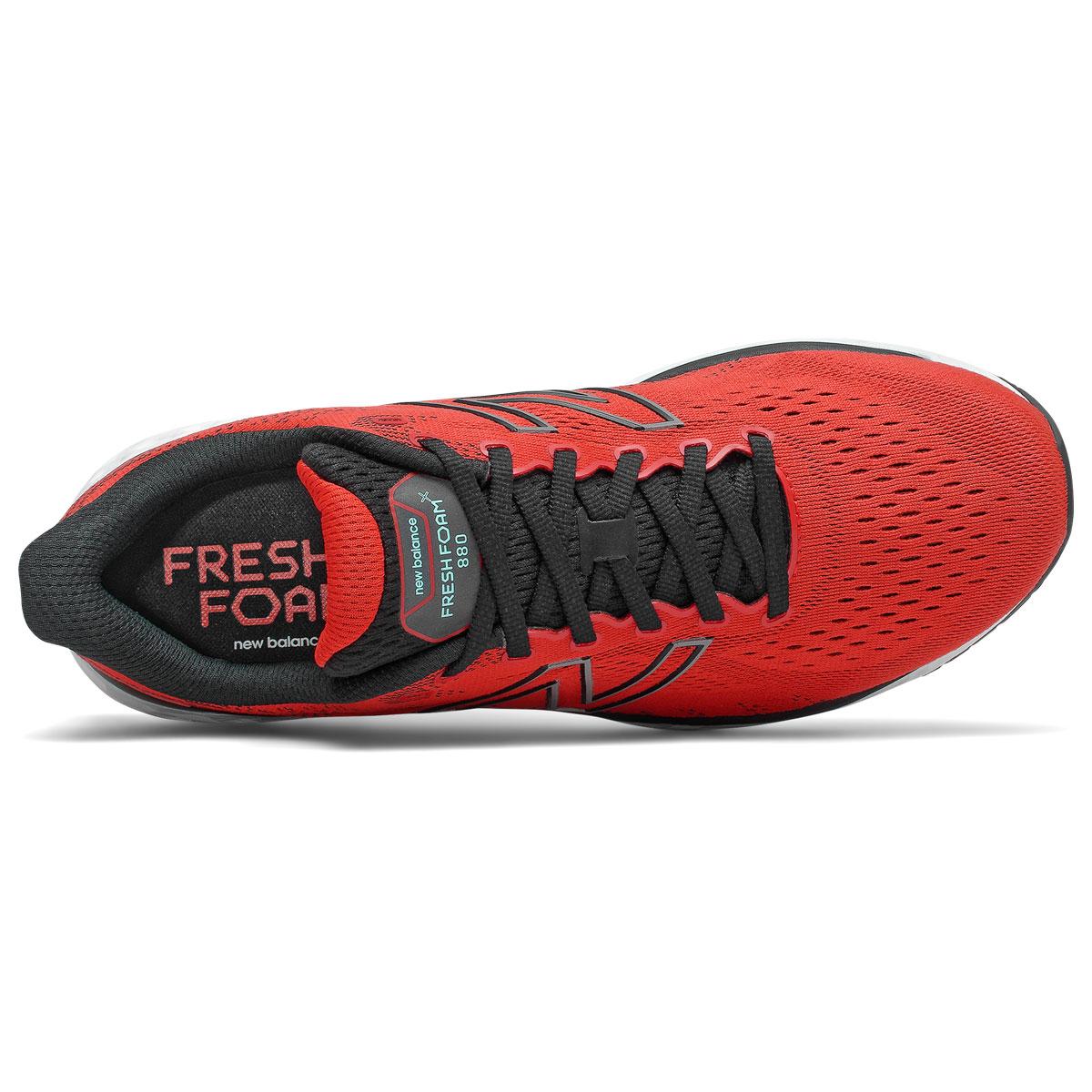 Men's New Balance Fresh Foam 880v11 Running Shoe - Color: Velocity Red/Black - Size: 8 - Width: Wide, Velocity Red/Black, large, image 3