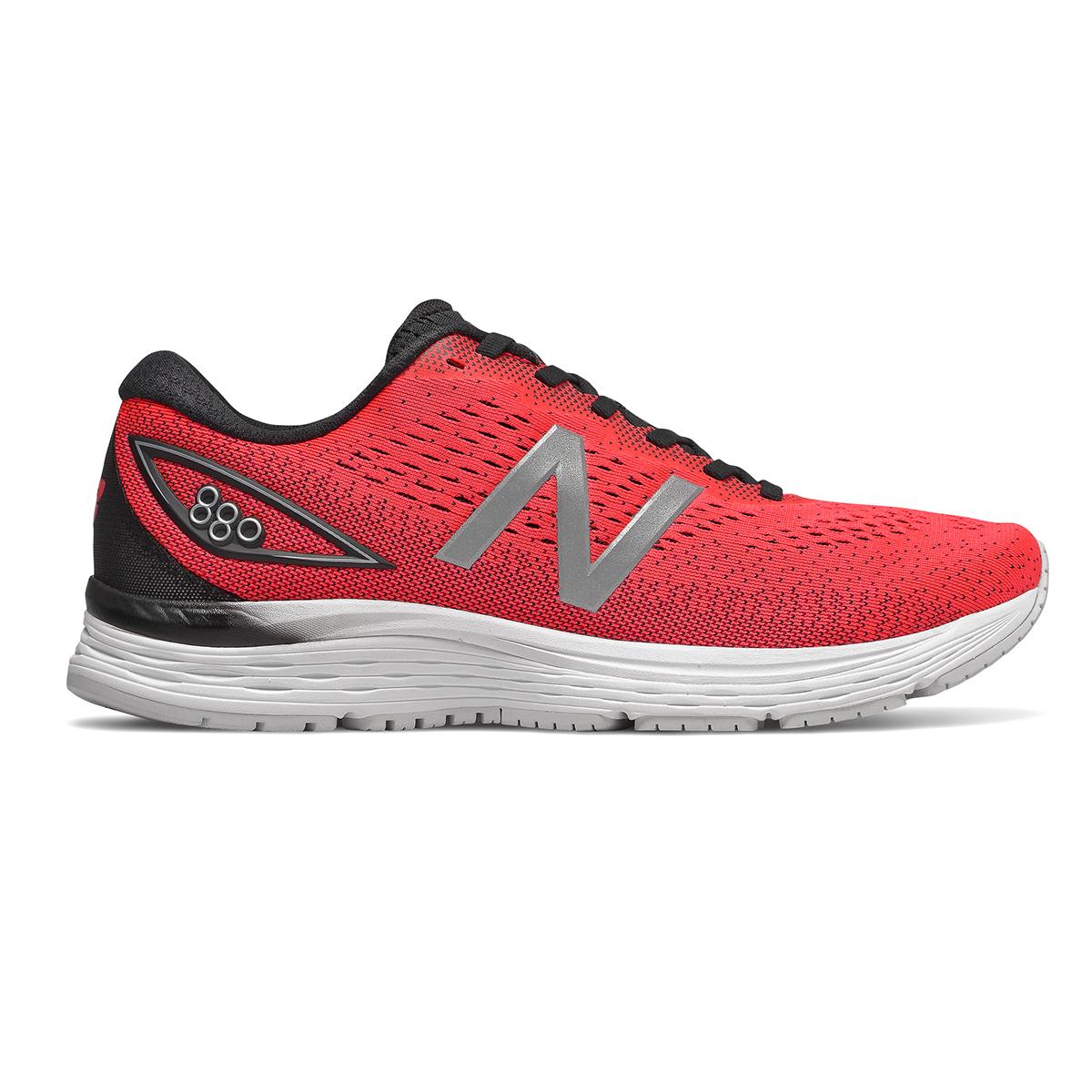 Men's New Balance 880V9 Running Shoe - Color: Energy Red / Black / White (Regular Width) - Size: 9, Energy Red / Black / White, large, image 1