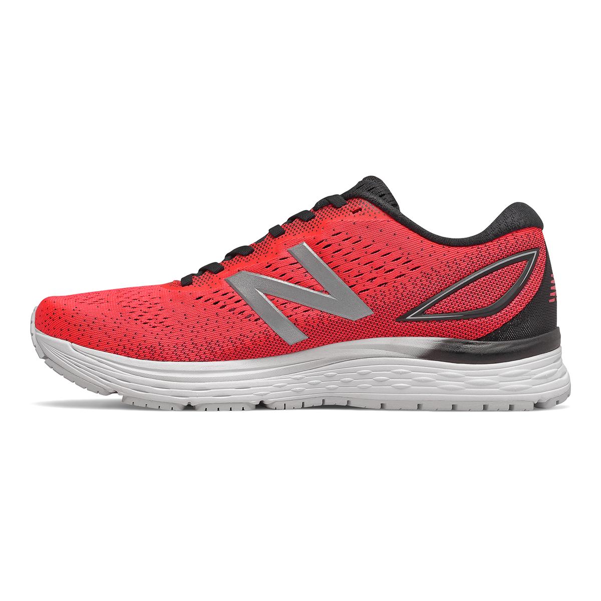 Men's New Balance 880V9 Running Shoe - Color: Energy Red / Black / White (Regular Width) - Size: 9, Energy Red / Black / White, large, image 2