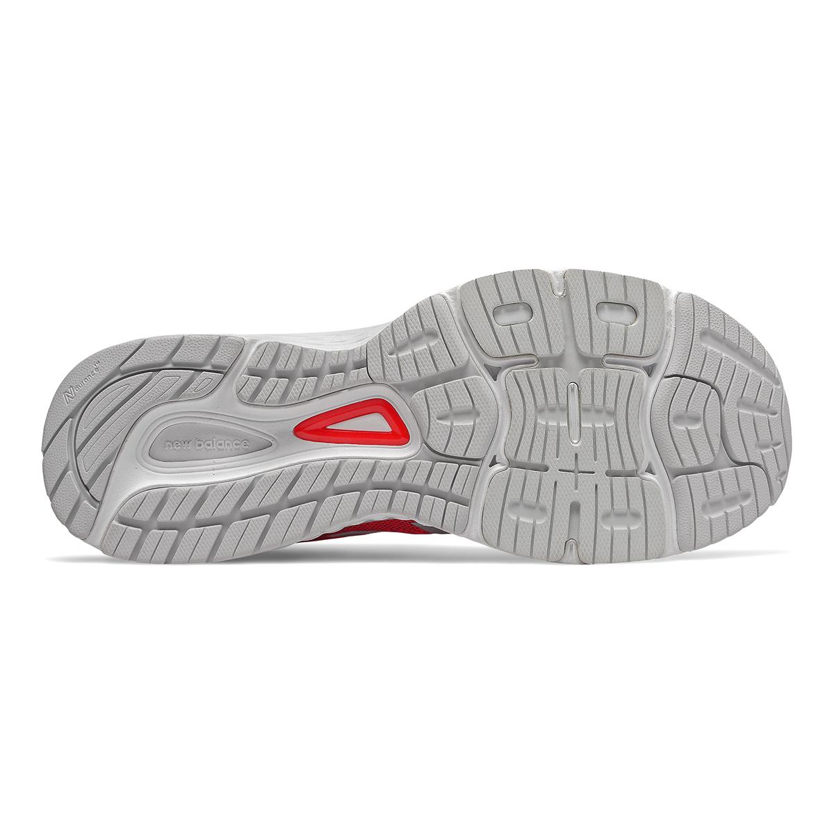 Men's New Balance 880V9 Running Shoe - Color: Energy Red / Black / White (Regular Width) - Size: 9, Energy Red / Black / White, large, image 3