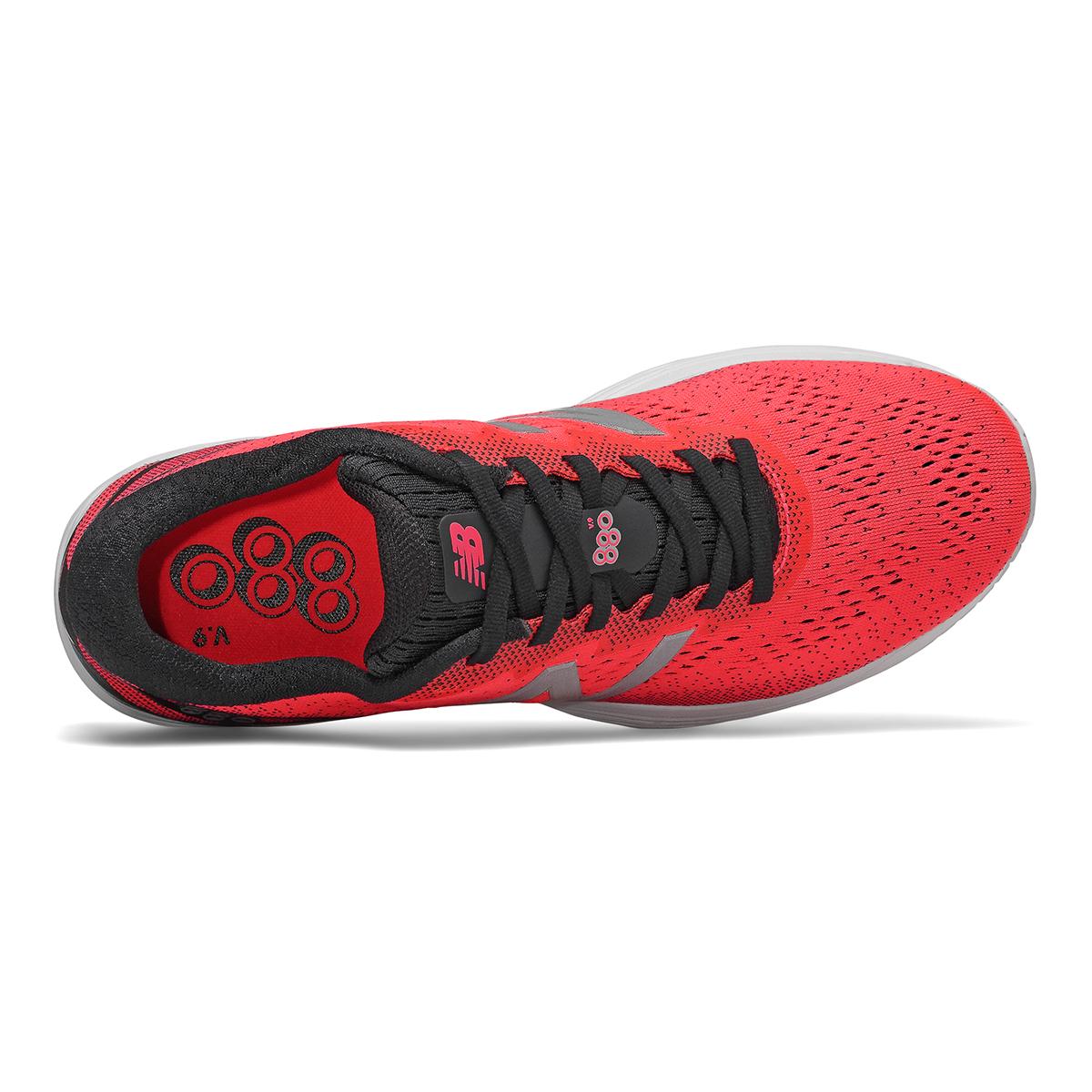 Men's New Balance 880V9 Running Shoe - Color: Energy Red / Black / White (Regular Width) - Size: 9, Energy Red / Black / White, large, image 4