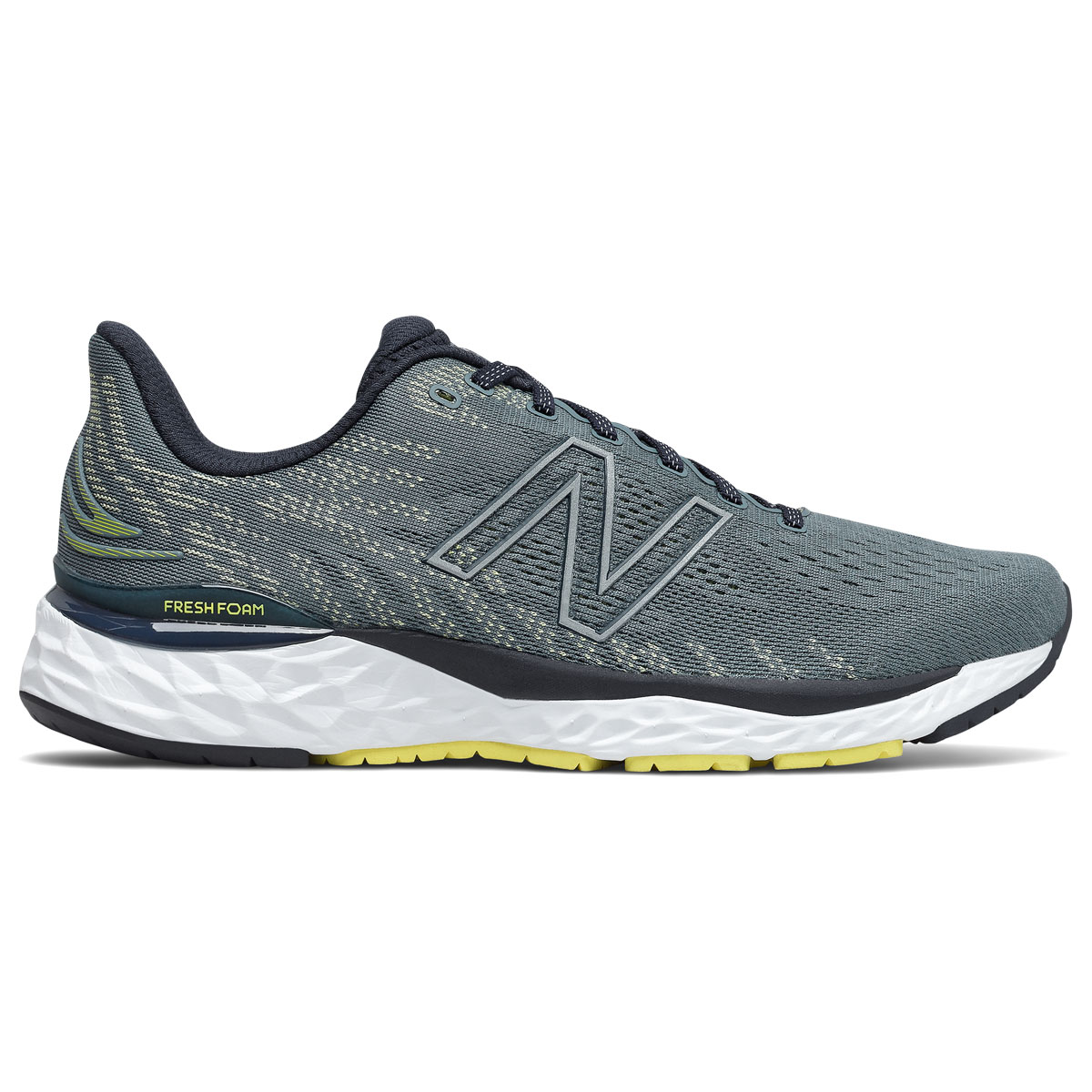 Men's New Balance Fresh Foam 880v11 Running Shoe - Color: Ocean Grey/First Light - Size: 7 - Width: Wide, Ocean Grey/First Light, large, image 1