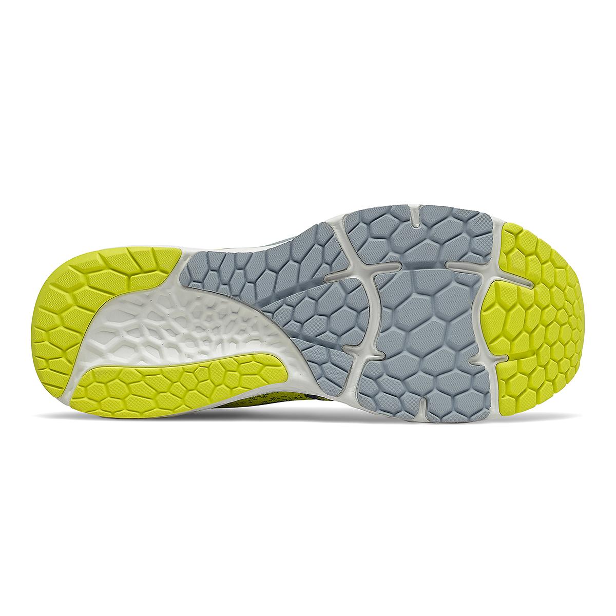 Men's New Balance Fresh Foam 880v11 Running Shoe - Color: Sulphur Yellow/Deep Ocean Grey - Size: 7 - Width: Wide, Sulphur Yellow/Deep Ocean Grey, large, image 5