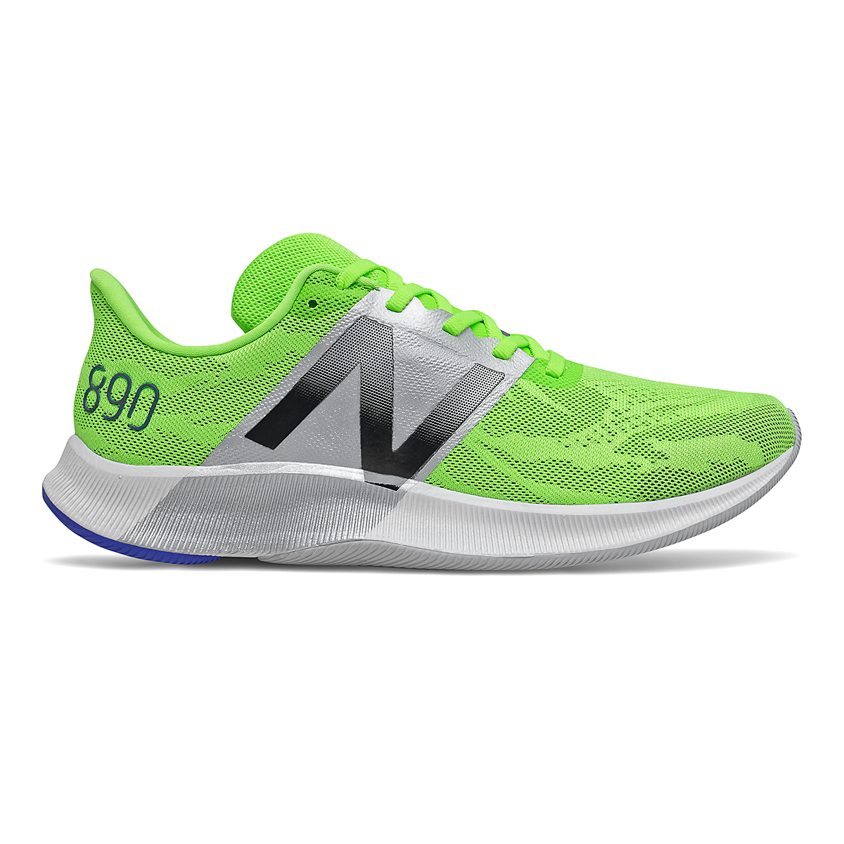 Men's New Balance 890V8 Running Shoe - Color: Energy Lime - Size: 8.5 - Width: Wide, Energy Lime, large, image 1