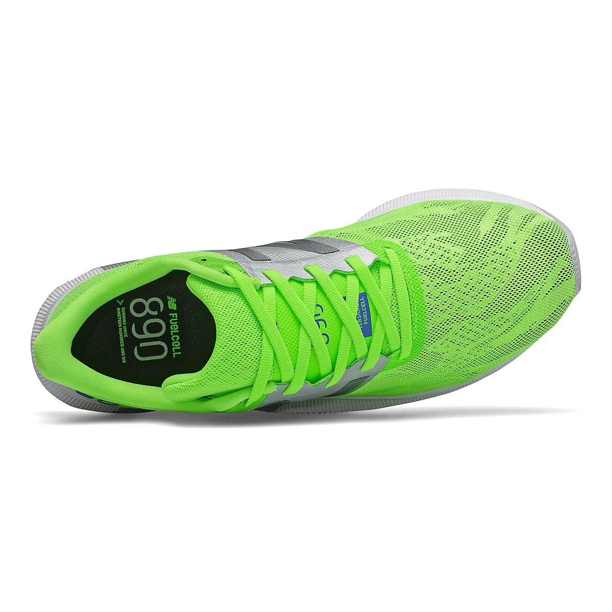 Men's New Balance 890V8 Running Shoe - Color: Energy Lime - Size: 8.5 - Width: Wide, Energy Lime, large, image 3