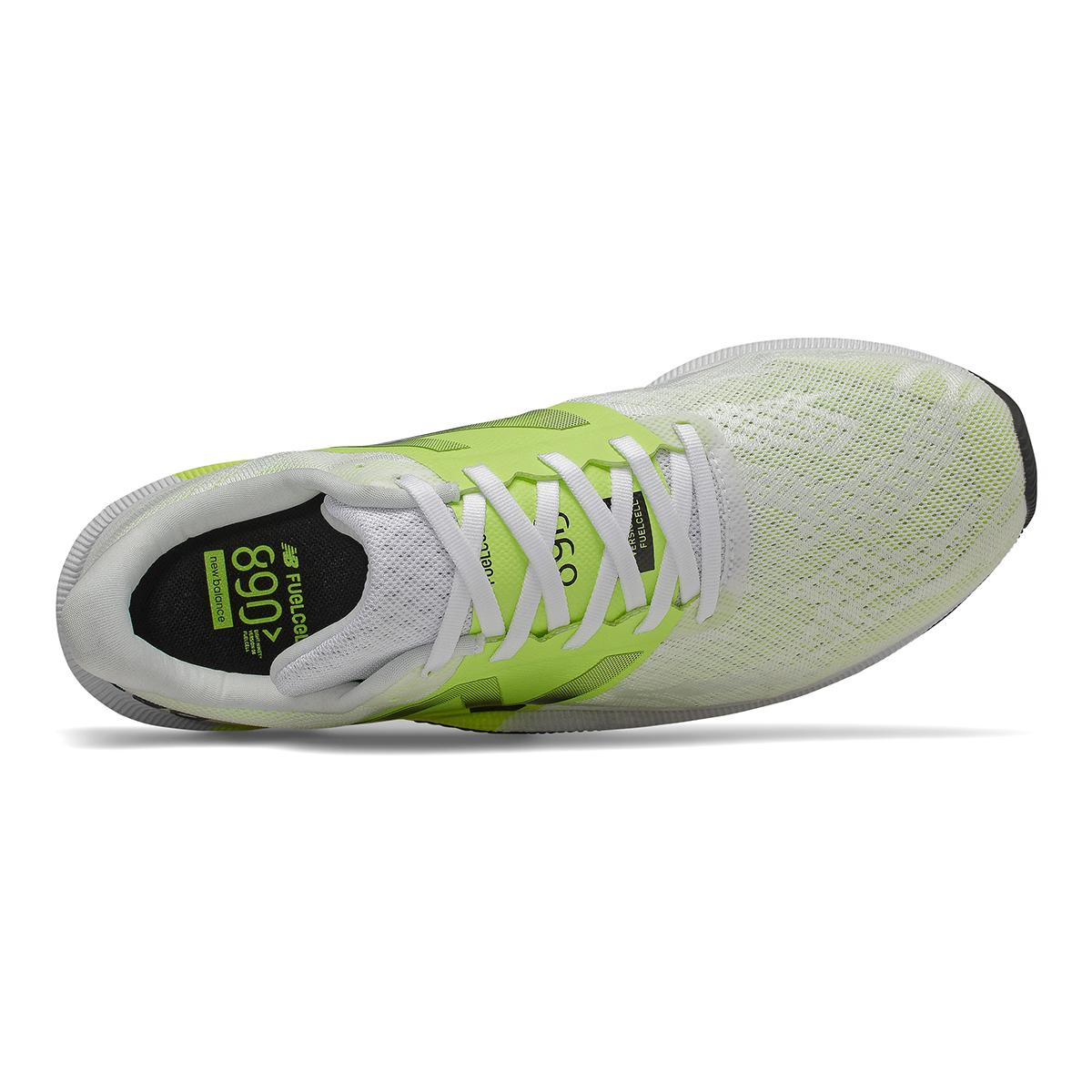 Men's New Balance 890V8 Running Shoe - Color: White (Wide Width) - Size: 7, White, large, image 3