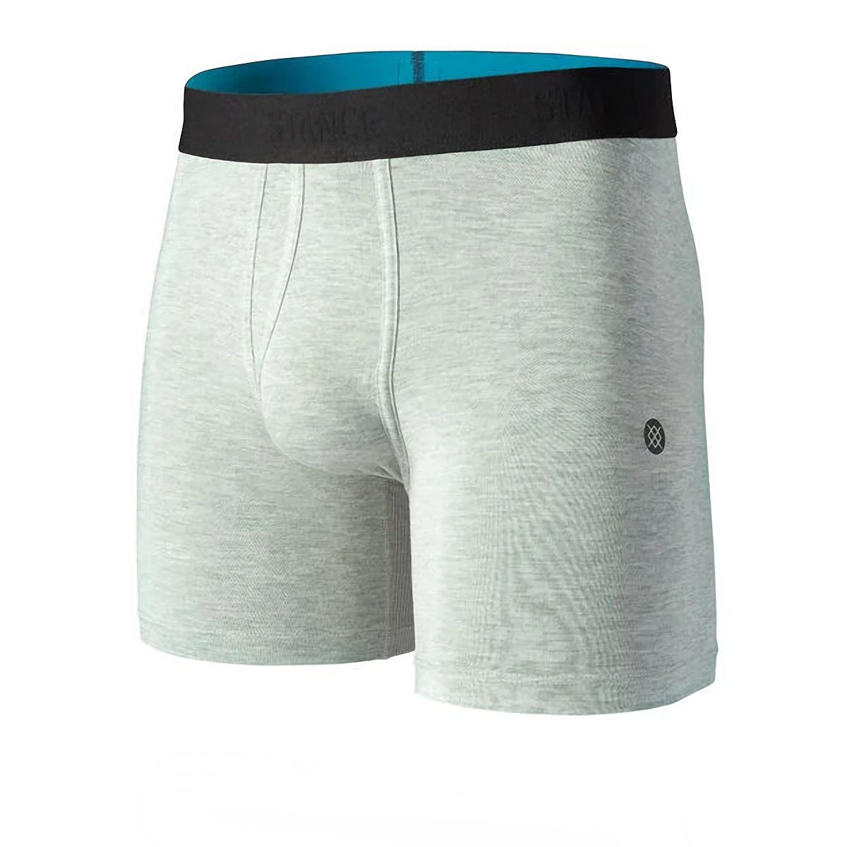 Men's Stance Staple ST 6in Boxer Briefs - Color: Heathergrey - Size: S, Heathergrey, large, image 1
