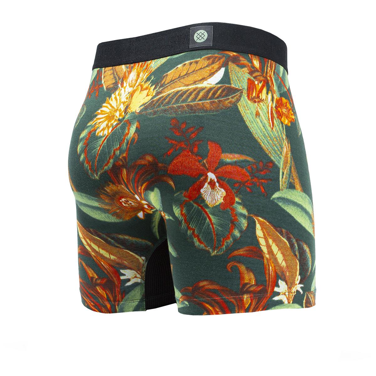 Men's Stance Zecharia Boxer Brief Wholester - Color: Green - Size: S, Green, large, image 2