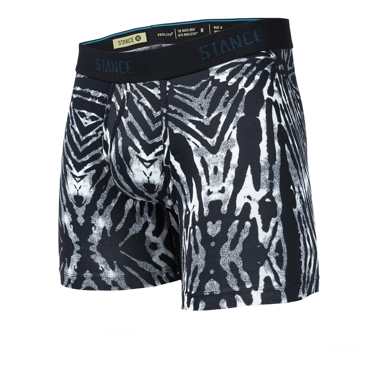 Men's Stance Helquist Boxer Brief Wholester - Color: Black/Grey - Size: S, Black/Grey, large, image 1