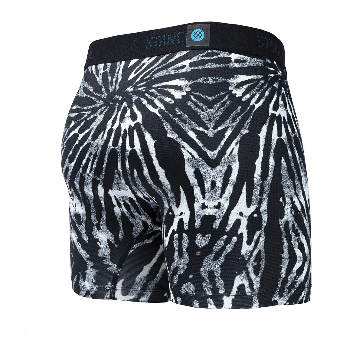 Men's Stance Helquist Boxer Brief Wholester - Color: Black/Grey - Size: S, Black/Grey, large, image 2
