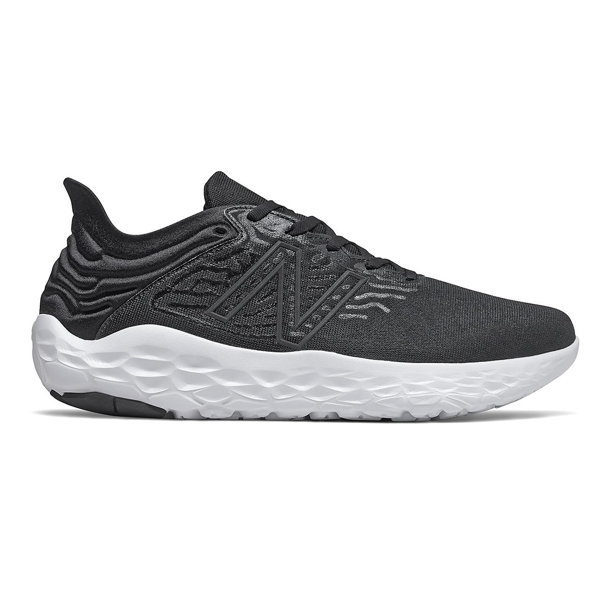 Men's New Balance Beacon V3 Running Shoe - Color: Black - Size: 8 - Width: Regular, Black, large, image 1