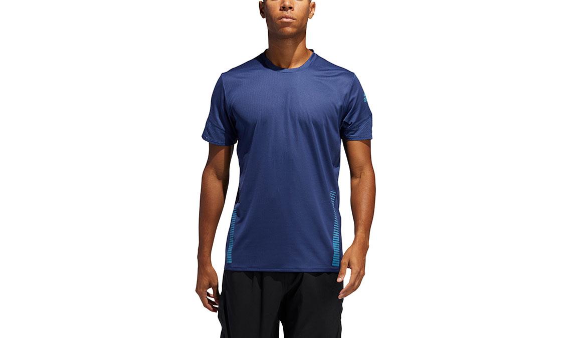 Men's Adidas 25/7 Rise Up N Run Parley Tee, , large, image 1