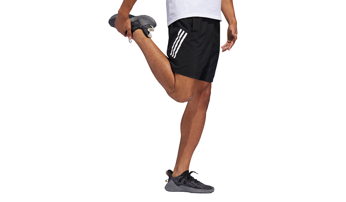 "Men's Adidas 4KRFT Tech Woven 8"" Shorts - Color: Black/White Size: M, Black/White, large, image 2"