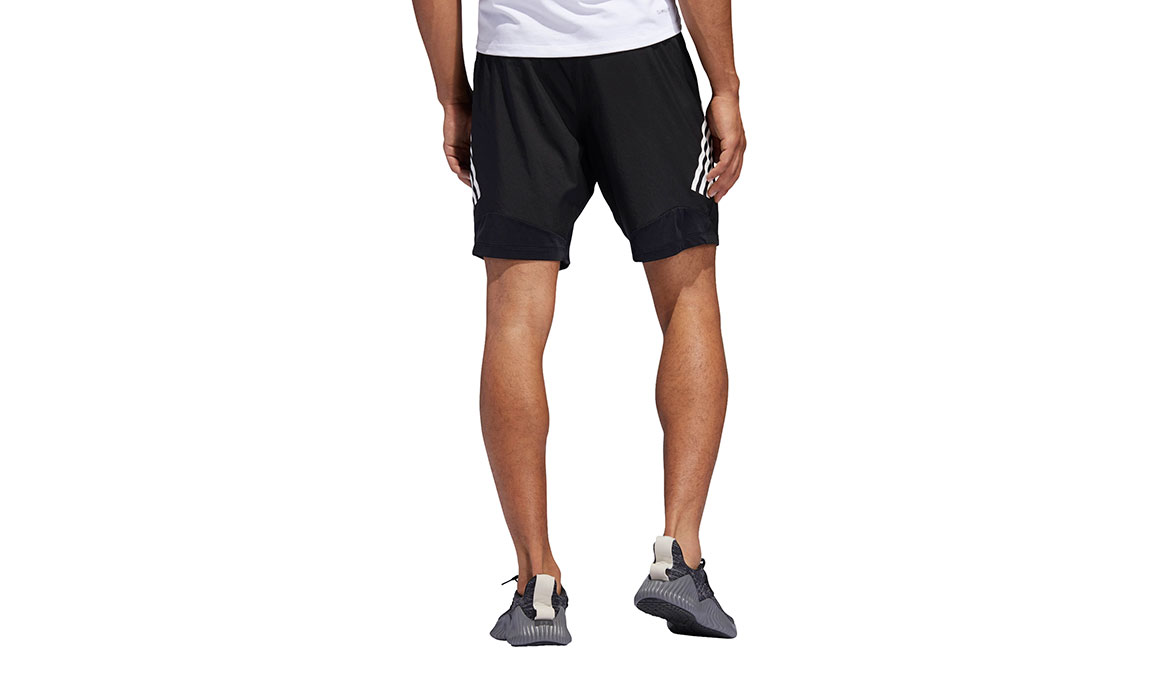"Men's Adidas 4KRFT Tech Woven 8"" Shorts - Color: Black/White Size: M, Black/White, large, image 3"