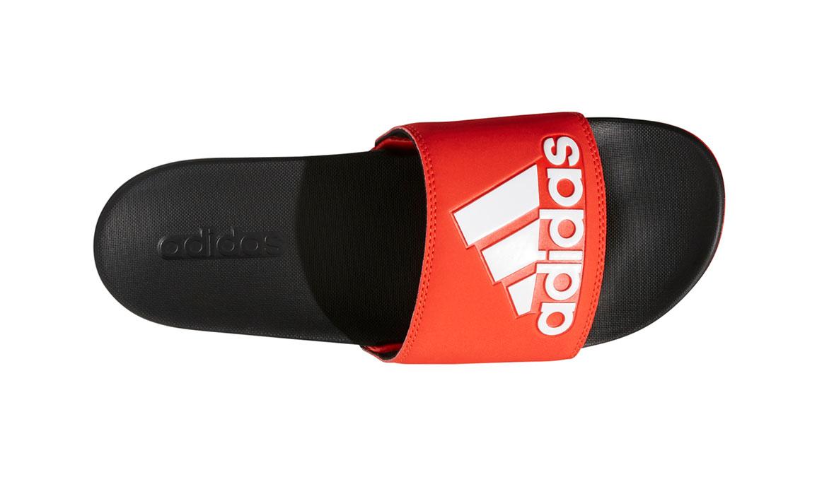 Men's Adidas Adilette Cloudfoam Plus Logo Slides