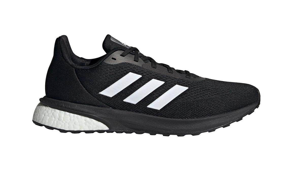 Men's Adidas Astrarun Running Shoe - Color: Core Black/Cloud White (Regular Width) - Size: 6.5, Black/White, large, image 1
