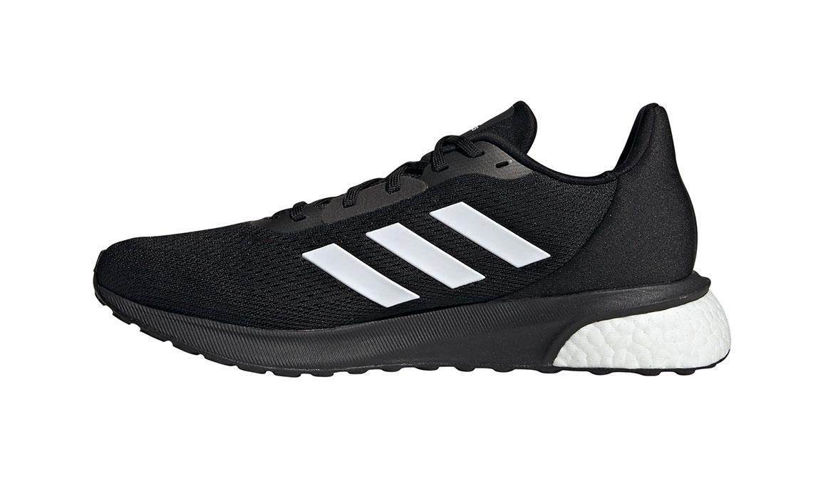 Men's Adidas Astrarun Running Shoe - Color: Core Black/Cloud White (Regular Width) - Size: 6.5, Black/White, large, image 2