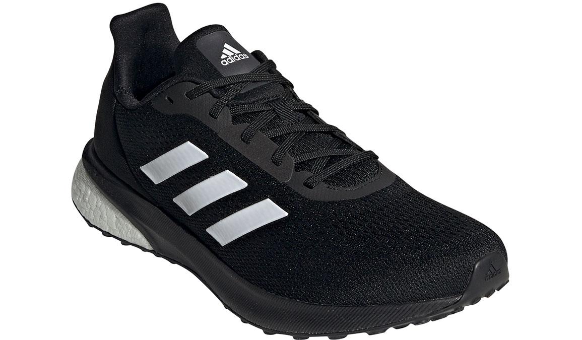 Men's Adidas Astrarun Running Shoe - Color: Core Black/Cloud White (Regular Width) - Size: 6.5, Black/White, large, image 4