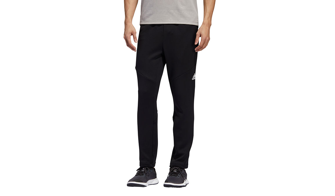 Men's Adidas Climawarm Training Pants - Color: Black Size: S, Black, large, image 1