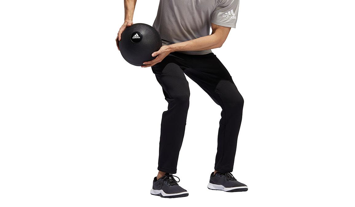 Men's Adidas Climawarm Training Pants - Color: Black Size: S, Black, large, image 2