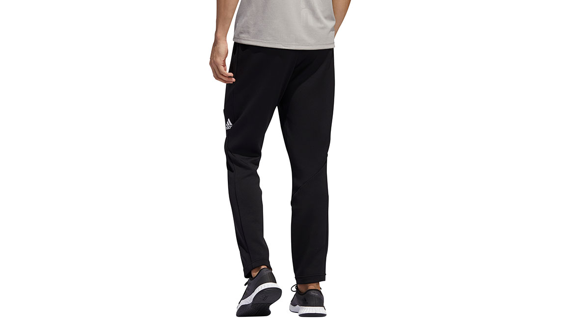 Men's Adidas Climawarm Training Pants - Color: Black Size: S, Black, large, image 4