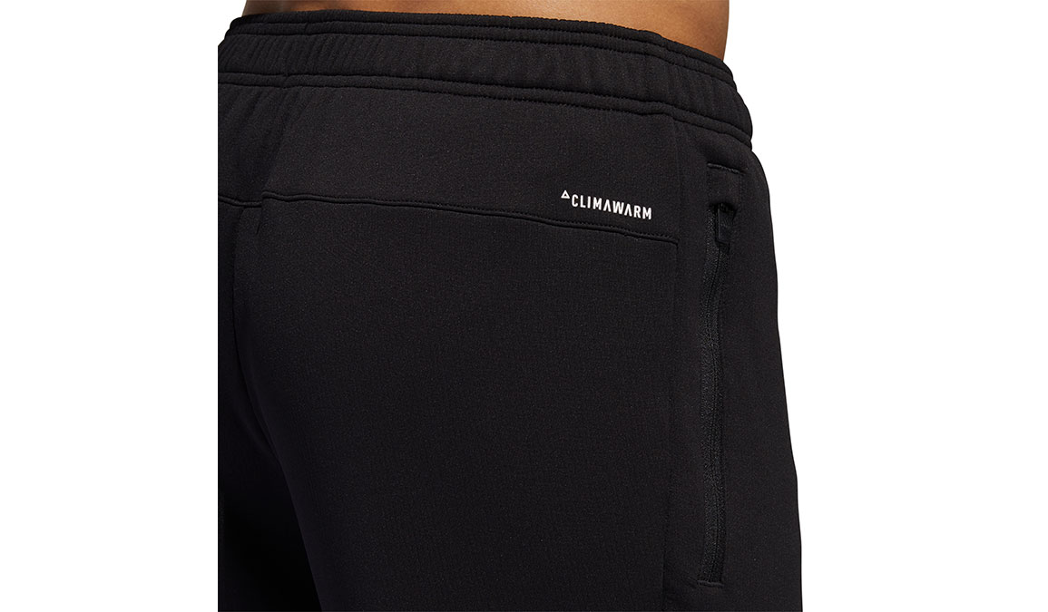 Men's Adidas Climawarm Training Pants - Color: Black Size: S, Black, large, image 6