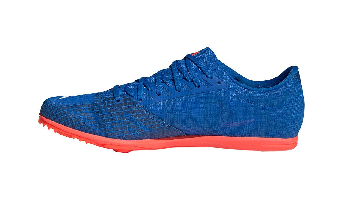 Men's Adidas Distancestar Track Spikes - Color: Glory Blue/Core White (Regular Width) - Size: 8.5, Blue/White, large, image 2