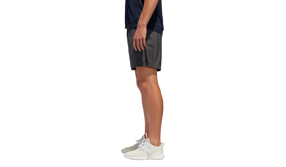 "Men's Adidas Own The Run Short 7""  - Color: Grey Size: M, Grey, large, image 2"