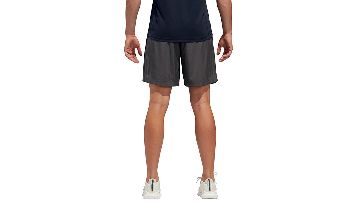 "Men's Adidas Own The Run Short 7""  - Color: Grey Size: M, Grey, large, image 3"