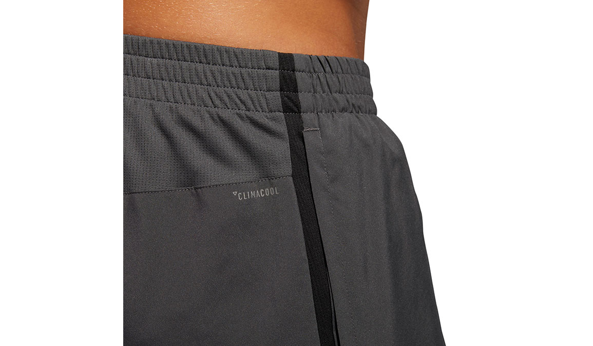 "Men's Adidas Own The Run Short 7""  - Color: Grey Size: M, Grey, large, image 4"