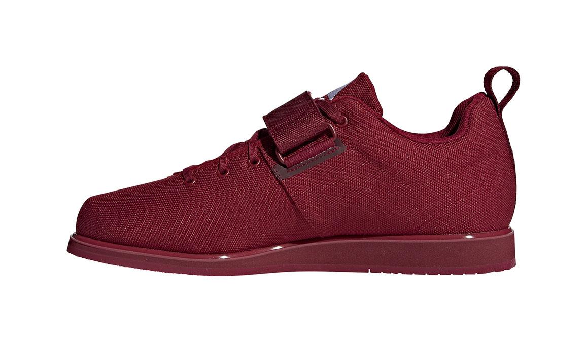 Men's Adidas Powerlift 4 Training Shoes - Color: Collegiate Burgundy/Footwear White (Regular Width) - Size: 13.5, Collegiate Burgundy/White, large, image 2