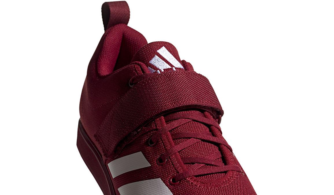 Men's Adidas Powerlift 4 Training Shoes - Color: Collegiate Burgundy/Footwear White (Regular Width) - Size: 13.5, Collegiate Burgundy/White, large, image 4